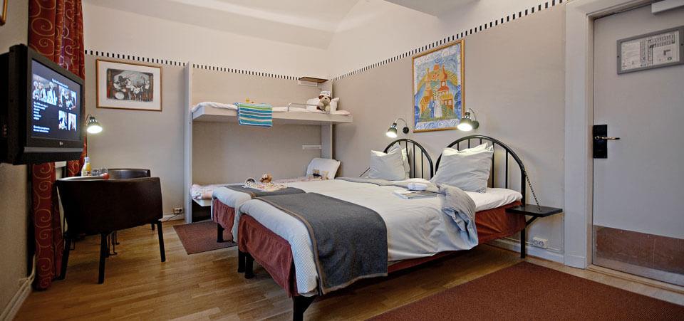 Familjecell - Långholmen Hotell