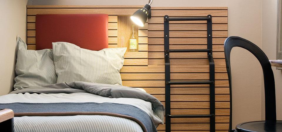 Enkelcell på Långholmen Hotell