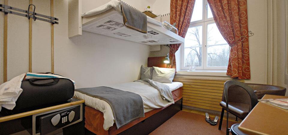 Tvåbäddscell Långholmen Hotell
