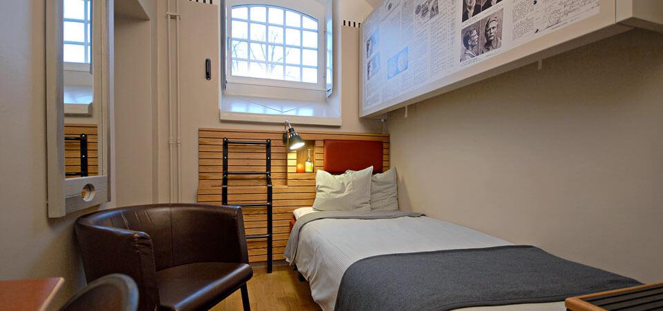 Hotellrum på Långholmen