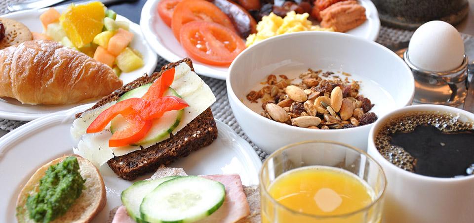 Frukost på Långholmen i Stockholm
