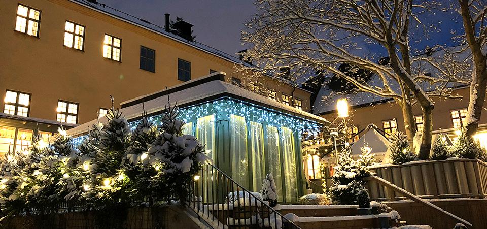 Julbord på Långholmen