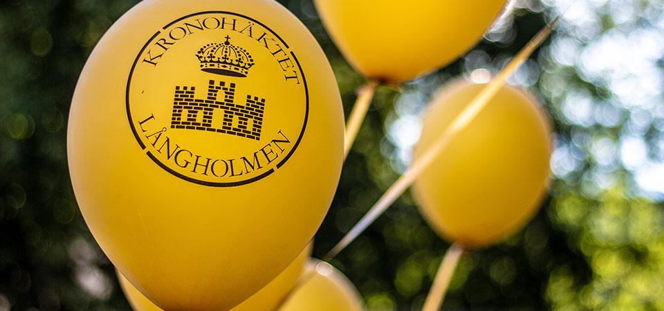 Ballonger på Långholmen